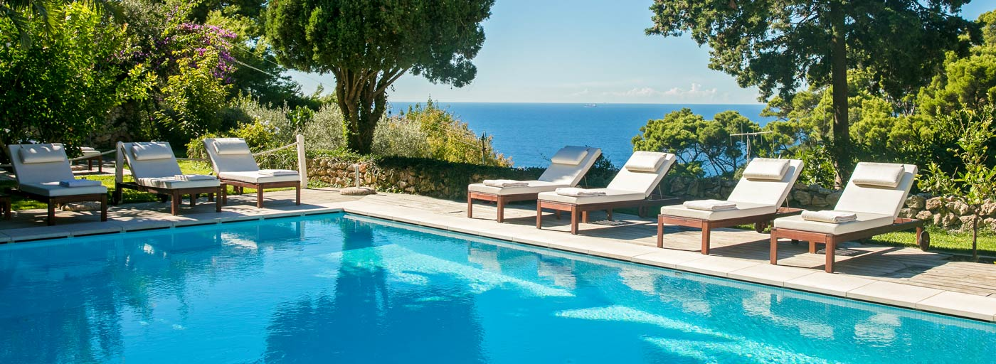 La Minerva hotel with pool - Capri